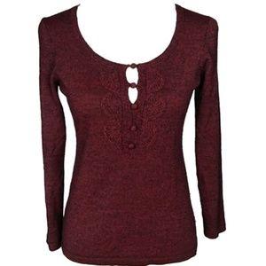 Loft cashmere blend sweater size S